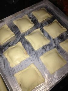 Panggang di loyang yang telah diolesi dengan butter atau mentega