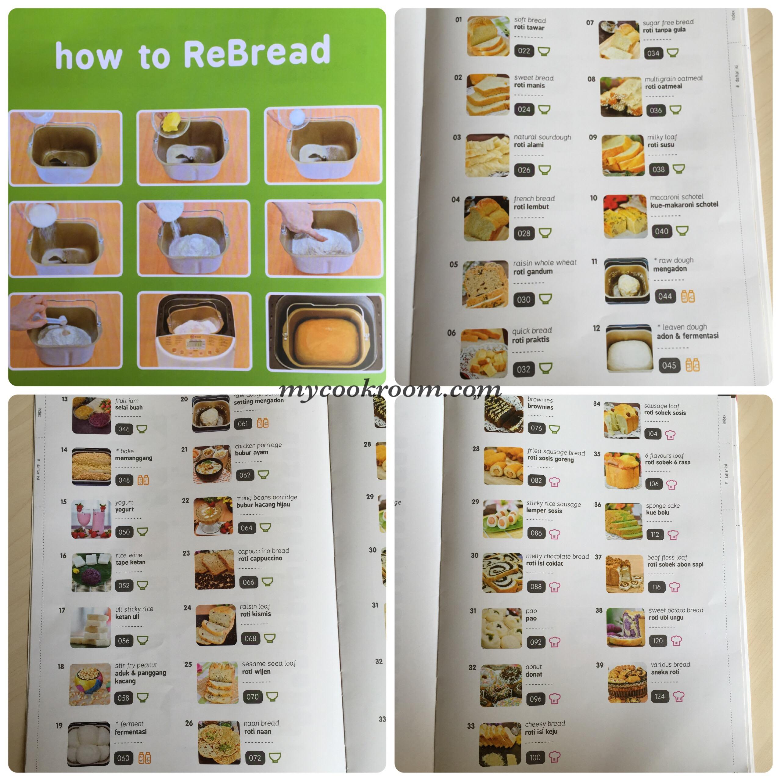Bread Maker Re Review Metyas Cook Room Oxone Rice Cooker Ox820n B Daftar Isi Buku